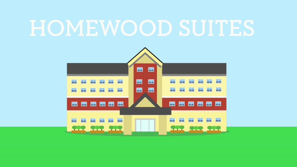 Homewood Suites Animation Video