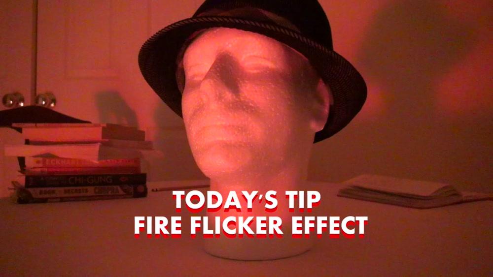 DIY Fire Flicker Effect