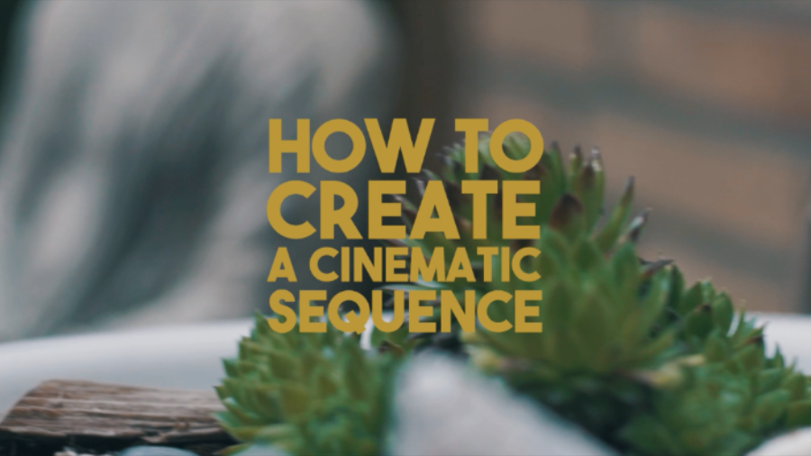 HOW TO CREATE A CINEMATIC SEQUENCE