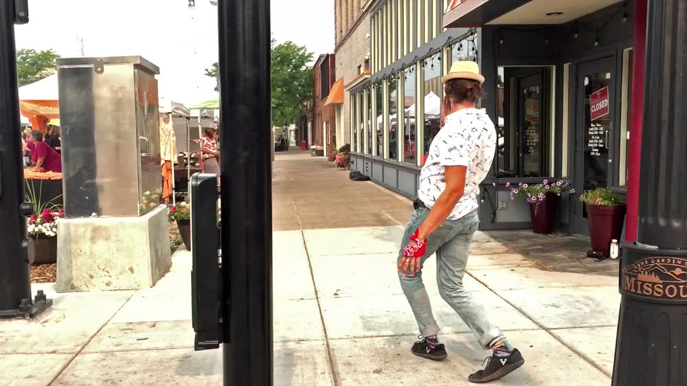 MJ inspired Street dancin