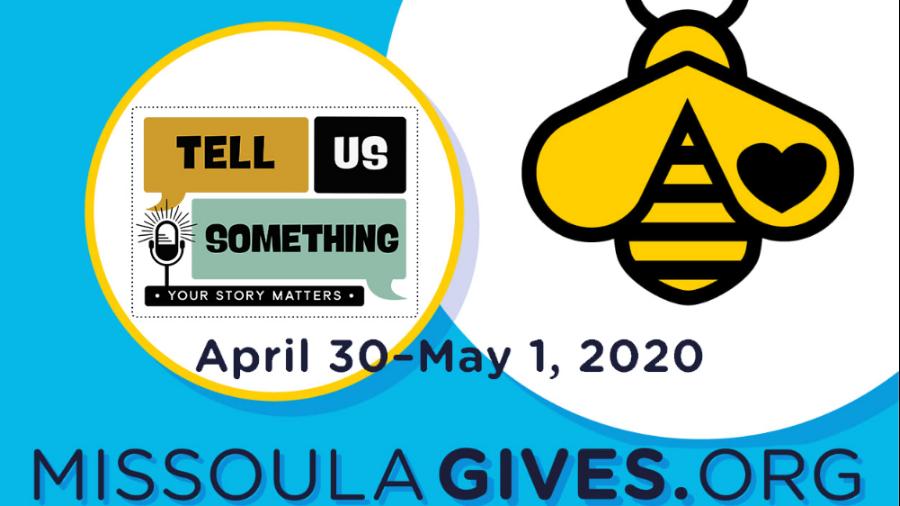 Tell Us Something 2020 Missoula Gives