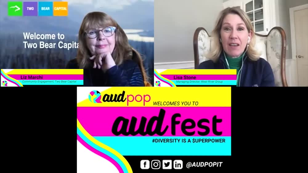 FIRESIDE CHAT DIVERSITY IS A SUPERPOWER AudFest 2020 Panel
