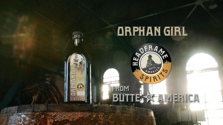 Headframe Spirits - Orphan Girl Bourbon Cream